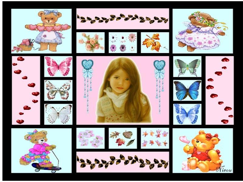 Cadres enfants et bebes for Cadre photo enfant